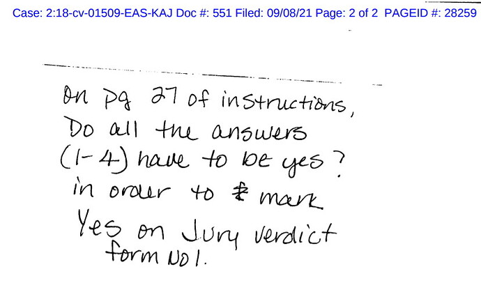 johns trial question from juror and the answer is yes sept 2021 not optimized