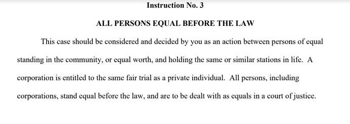 Bard jury instruction Johns case not optimized
