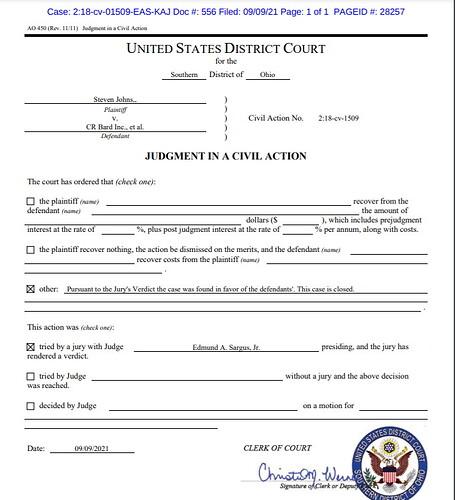 johns case closed sept 9 2021